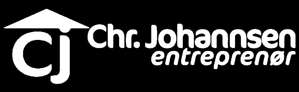 Chr. johannsen logo white